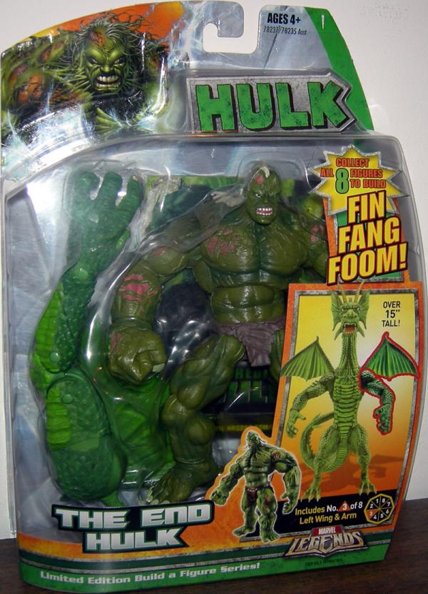 The End Hulk Action Figure Marvel Legends Fin Fang Foom Series