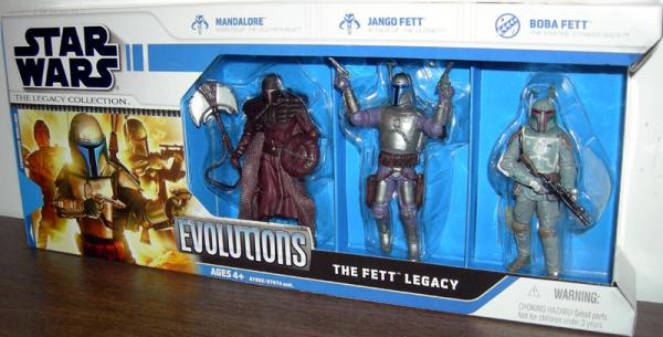 The Fett Legacy Legacy Collection
