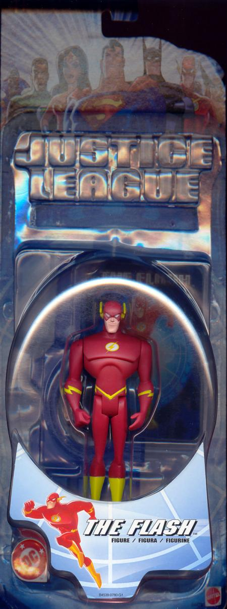 Flash Justice League Figure DC Mattel