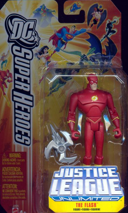 The Flash DC Justice League Unlimited