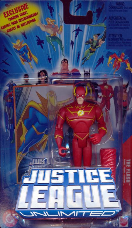 The Flash Justice League Unlimited