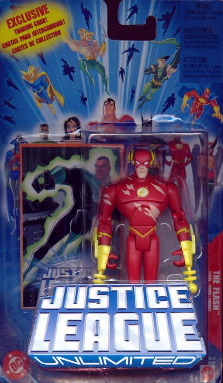 The Flash Justice League Unlimited, battle damaged