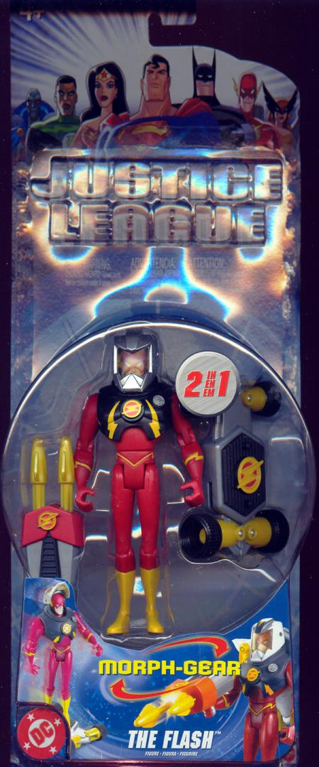 The Flash Morph-Gear