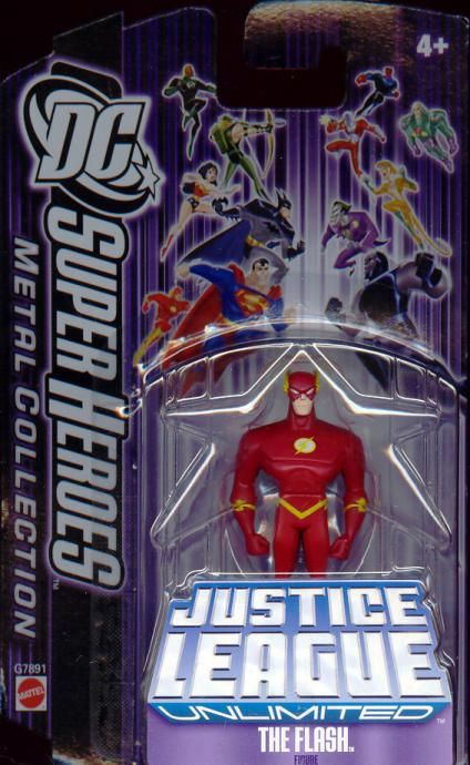 Flash Metal Collection Die Cast action figure