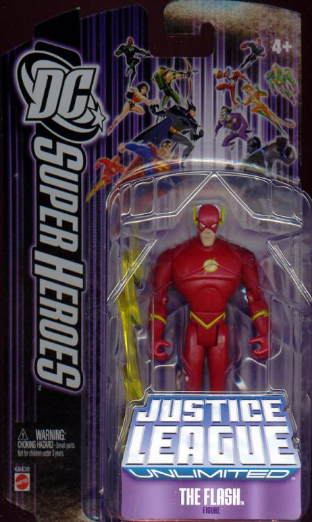 The Flash Justice League Unlimited, lightning bolt