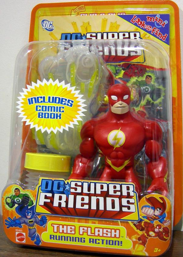 The Flash running action DC Super Friends