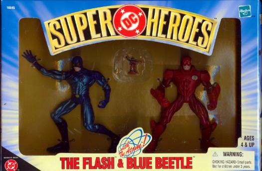 The Flash Blue Beetle 2-Pack