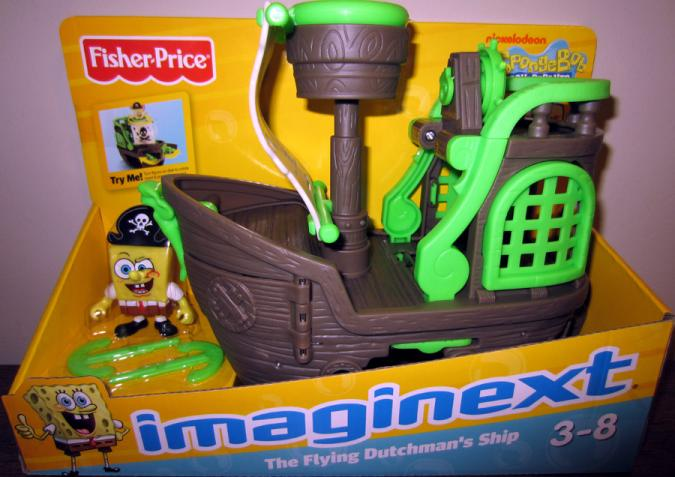 The Flying Dutchman Ship Imaginext Toys R Us Exclusive