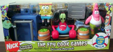 The Fry Cook Games Episode Playpack Mattel