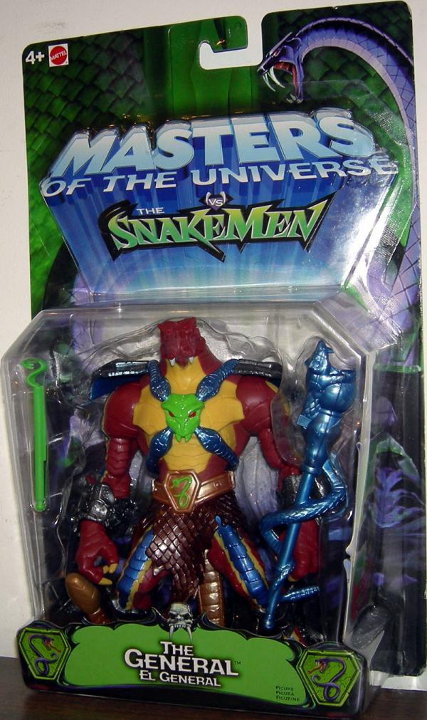 General Figure Snakemen Masters Universe Mattel