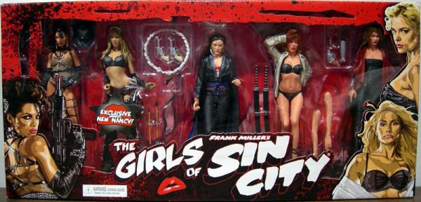 The Girls Sin City 5-Pack