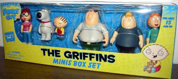 The Griffins Minis Box Set