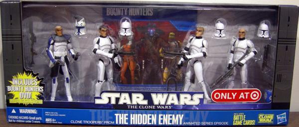 The Hidden Enemy 4-Pack Action Figures Star Wars
