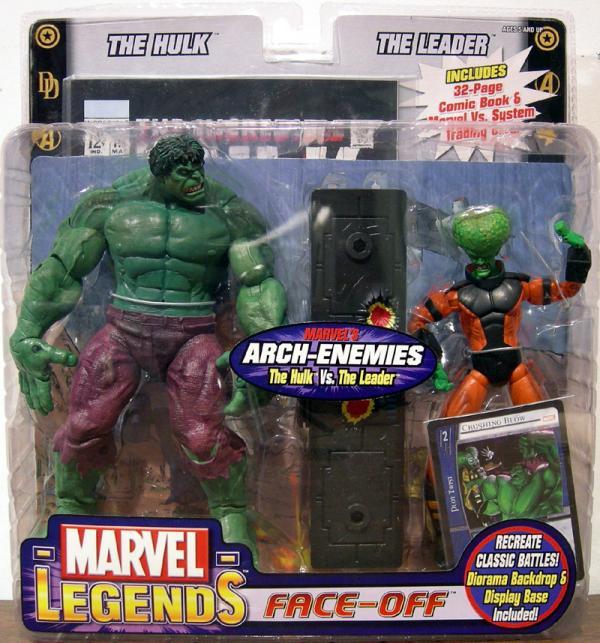 The Hulk vs Leader Marvel Legends
