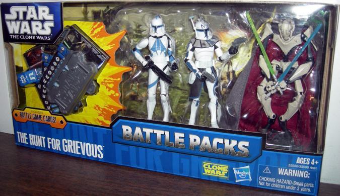 The Hunt Grievous Battle Pack Clone Wars