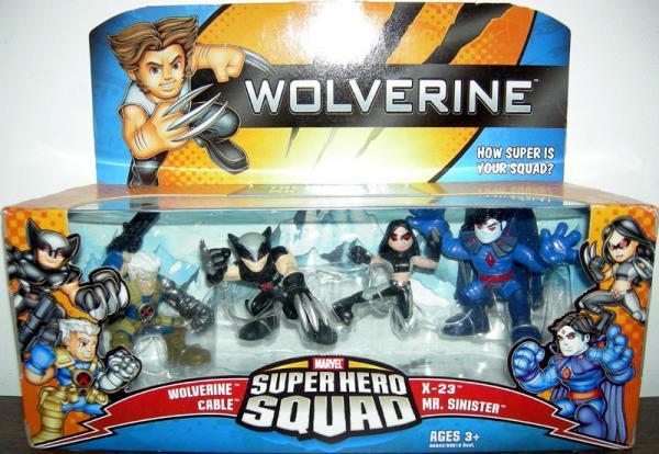 Hunt Mr Sinister Super Hero Squad action figures