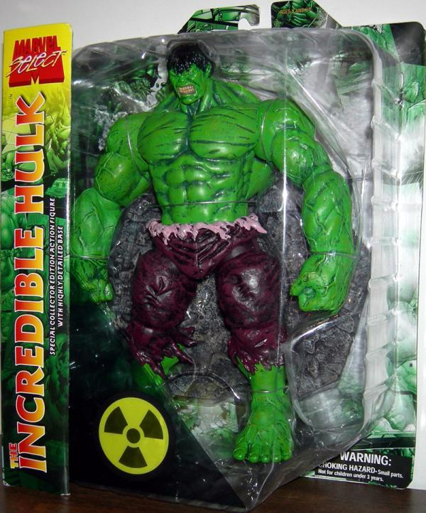 Incredible Hulk Figure Marvel Select Diamond