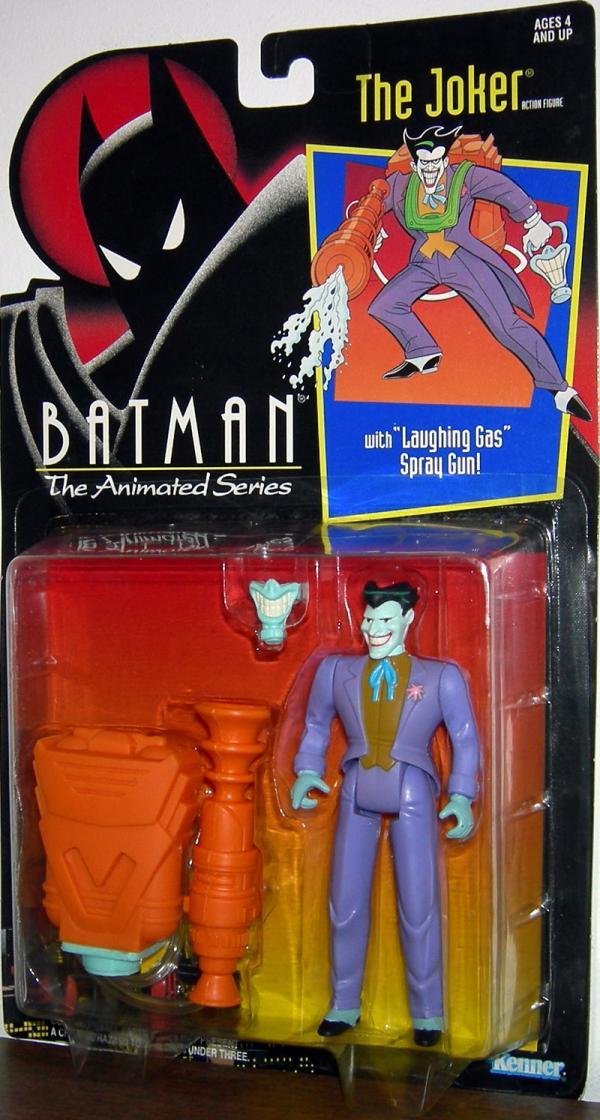 Joker Laughing Gas Spray Gun Batman Animated Series action figure