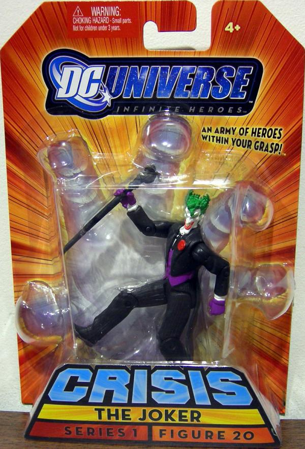 The Joker Infinite Heroes, figure 20, black suit