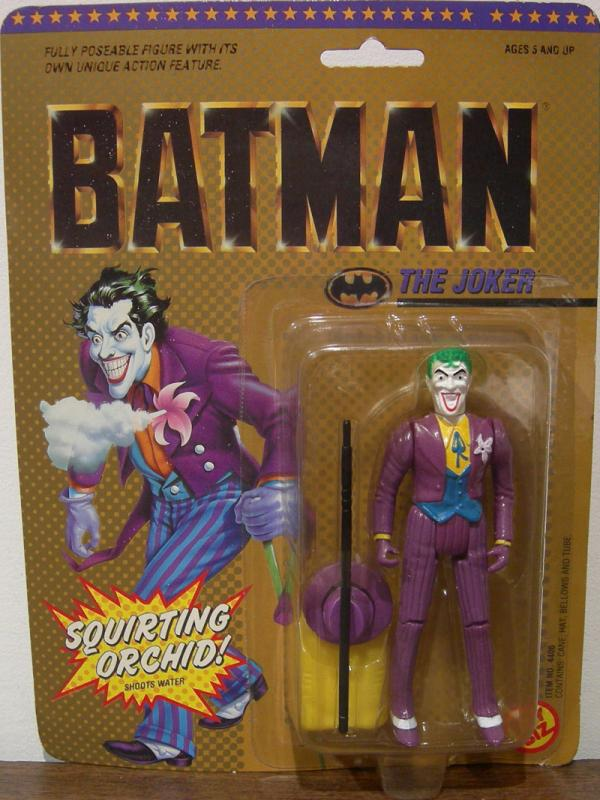 The Joker DC Super Heroes hair curl