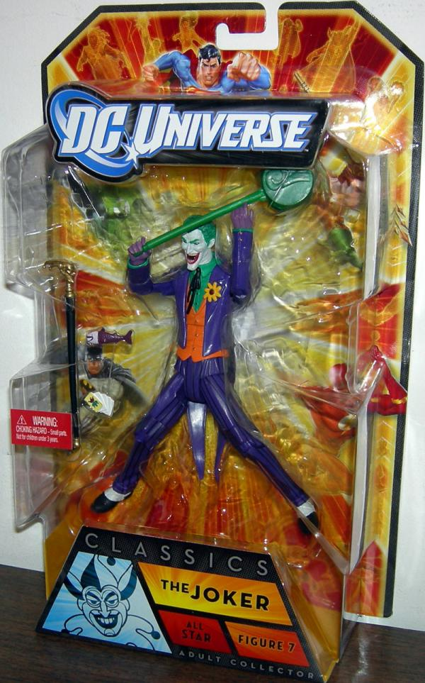 The Joker DC Universe Classics All Star Action Figure 7