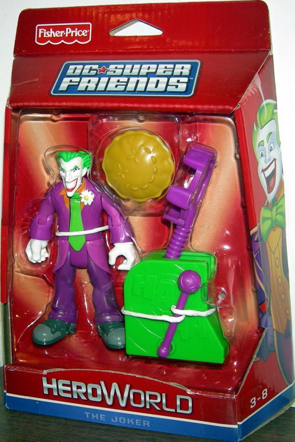 The Joker DC Super Friends HeroWorld