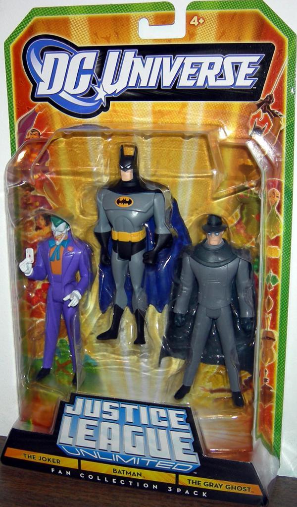 The Joker, Batman Gray Ghost Fan Collection 3-Pack