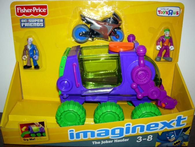 Joker Hauler Vehicle Imaginext Toys R Us Exclusive Fisher-Price