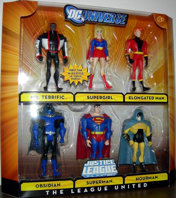 League United Figures DC Universe Justice League Unlimited