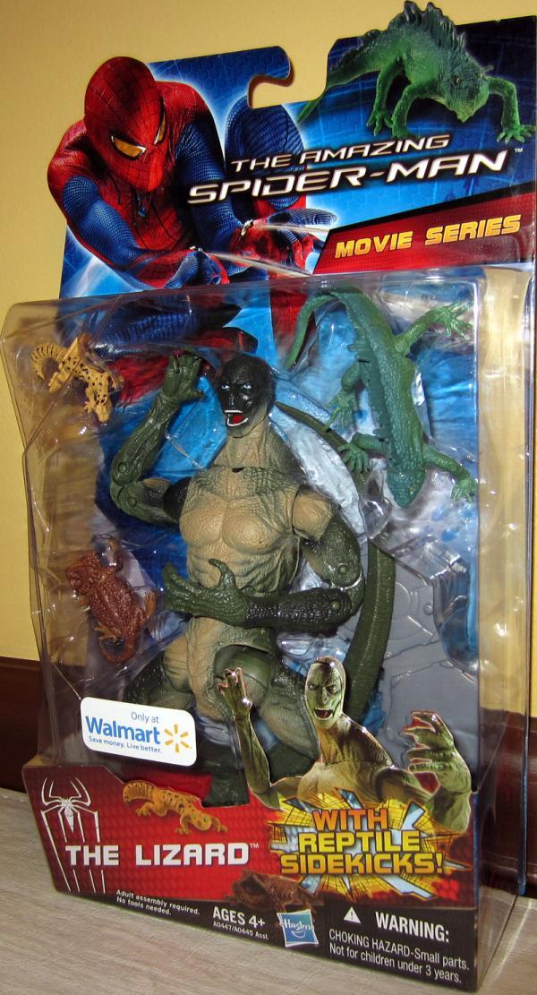 The Lizard Amazing Spider-Man Movie, Walmart Exclusive