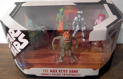 Max Rebo Band Figures Jabbas Palace Entertainers Star Wars