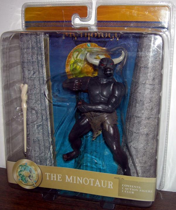 Minotaur Action Figure Mythology Club Sababa Toys