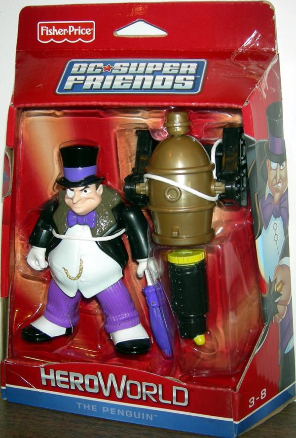 The Penguin Cannon DC Super Friends HeroWorld