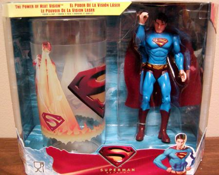 The Power Heat Vision Superman