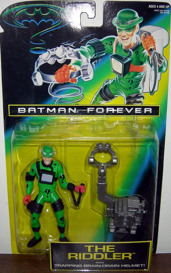 Riddler Figure Batman Forever Movie Kenner
