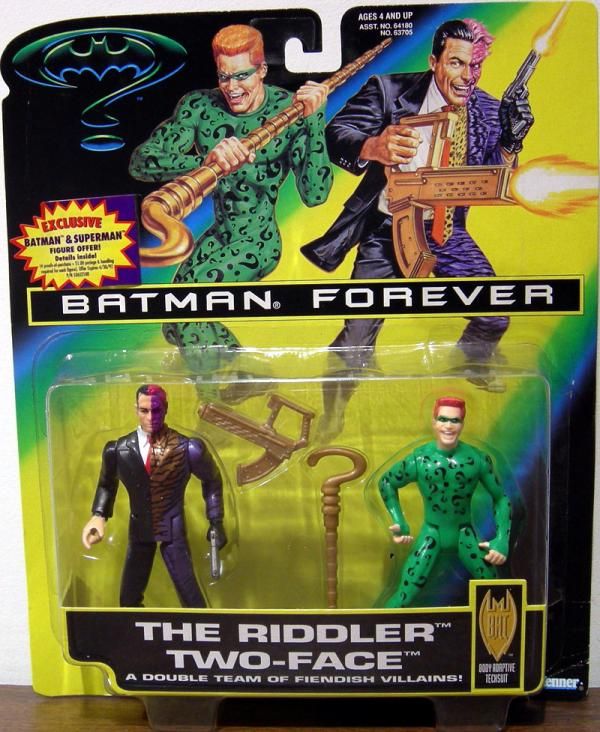 The Riddler Two-Face 2-Pack Batman Forever