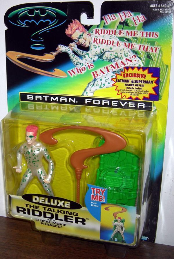 The Riddler Talking Batman Forever