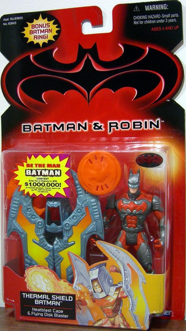 Thermal Shield Batman Batman Robin, bonus Batman ring