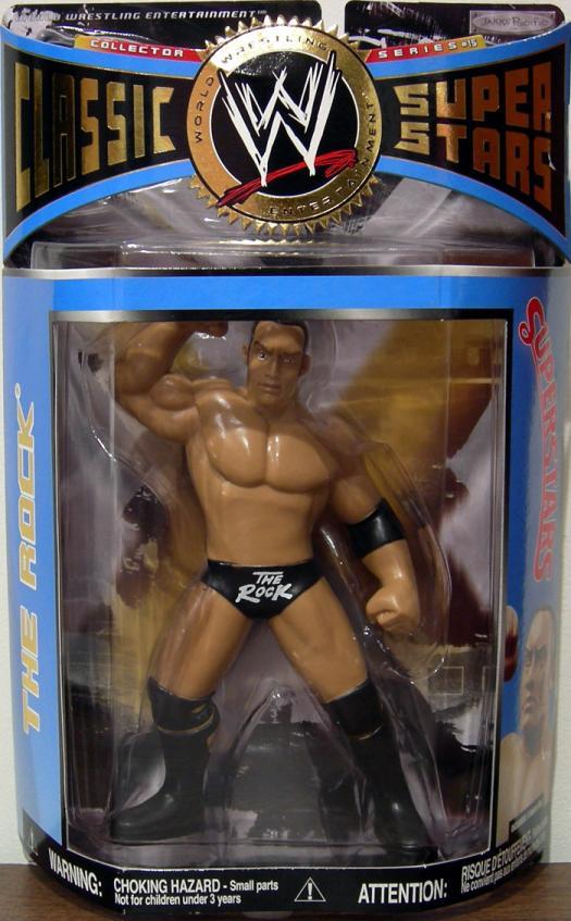 Rock Series 15 Figure WWE Classic Superstars Jakks