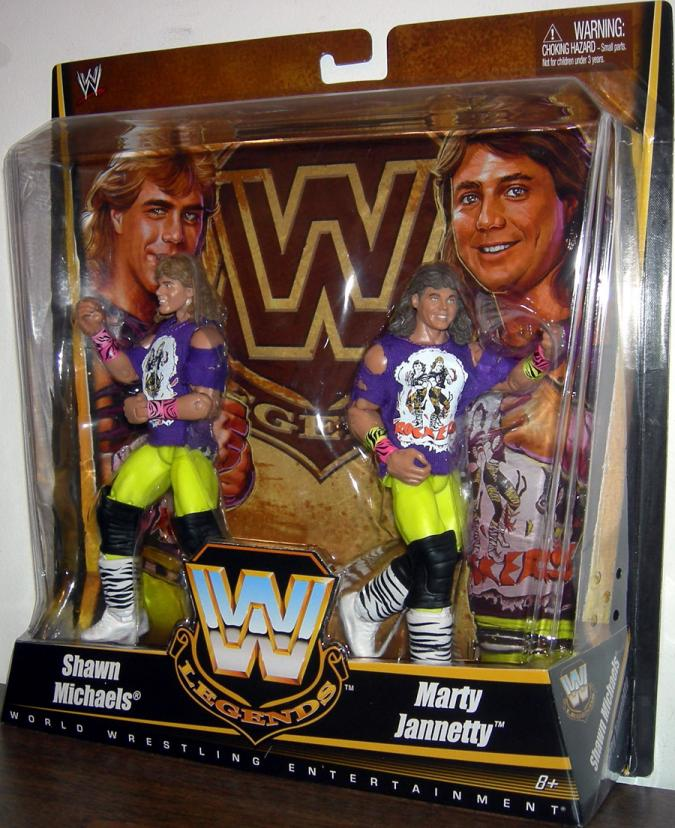 The Rockers Action Figures WWE Legends Mattel