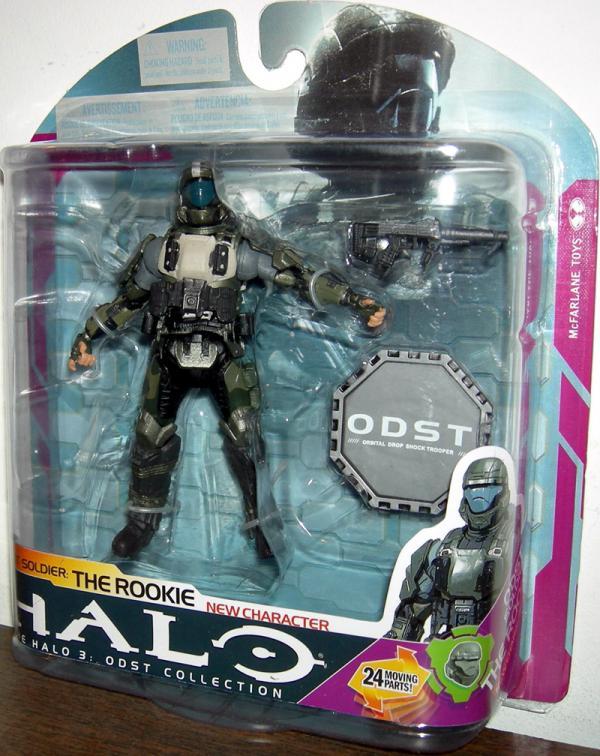 ODST Soldier- Rookie variant