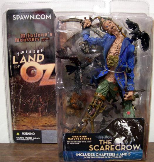 The Scarecrow Twisted Land Oz