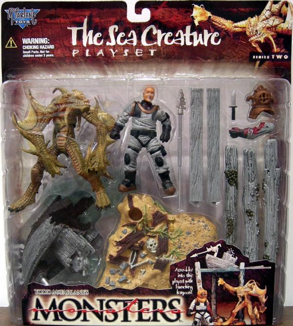 The Sea Creature playset series 2