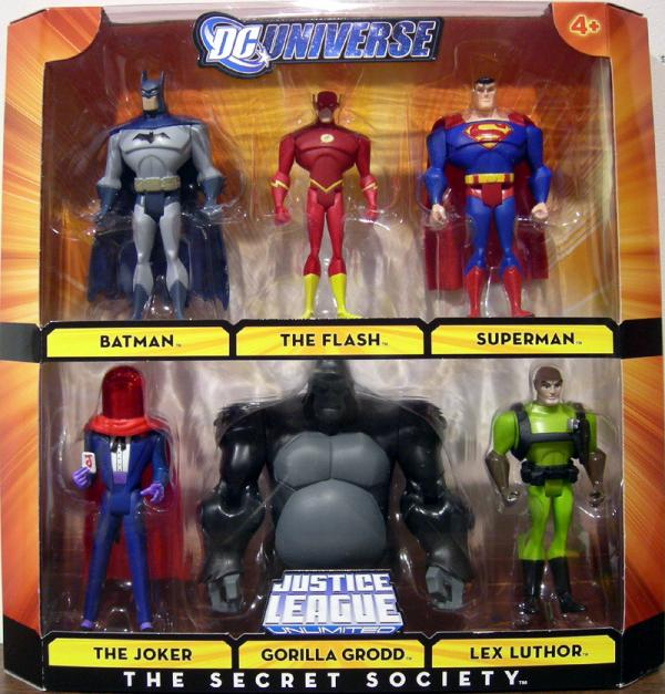 The Secret Society 6-Pack DC Universe