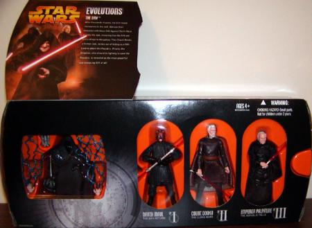 The Sith Evolutions 3-Pack