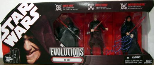 The Sith Evolutions 3-Pack 30th Anniversary