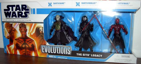 The Sith Legacy Collection Evolutions Action Figures Hasbro