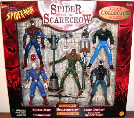 The Spider Scarecrow 5-Pack