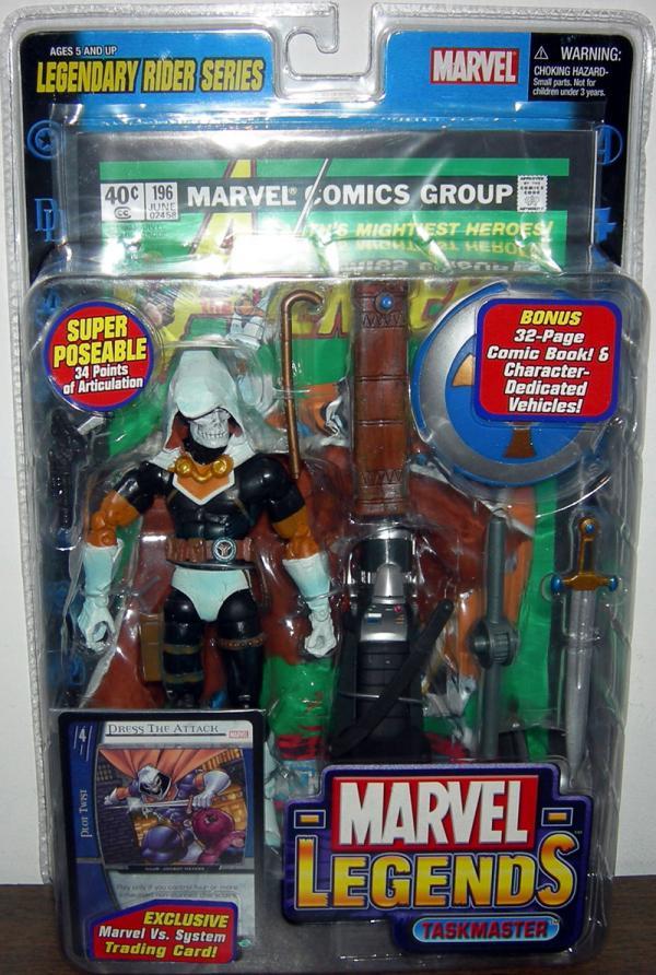 Taskmaster Figure Marvel Legends Legendary Rider Series Toy Biz