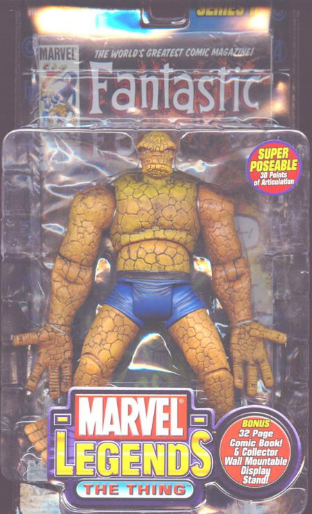 The Thing Marvel Legends